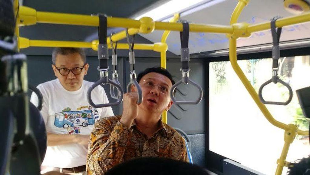 Soal PHK Massal di TransJ, Ahok: Itu dari Operator Bus yang Kena Sanksi
