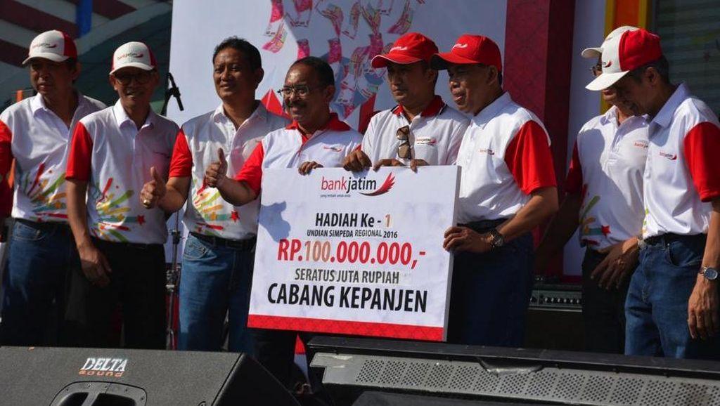 Bank Jatim Jadi Tuan Rumah Program Panen Rejeki Bank BPD Periode Pertama