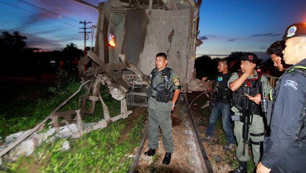 Bom Meledak di Kereta di Thailand, 1 Orang Tewas