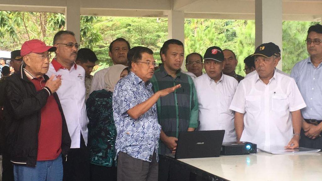 JK: Audit Kementerian PU Memungkinkan Proyek P3SON di Hambalang Dilanjutkan