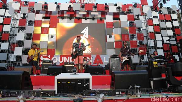 Shaggy Dog Hingga Isyana, Deretan Musisi Lokal di Soundrenalin 2016