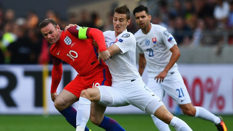Prestasi Rooney Di Laga Melawan Slovakia