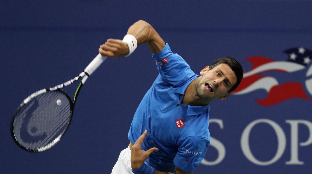 Djokovic ke Delapan Besar Usai Menang Tiga Set Langsung