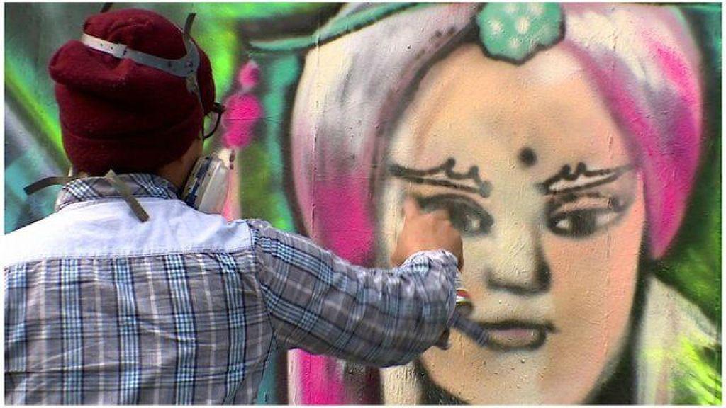Seniman Grafiti Mulai Diterima di Taiwan
