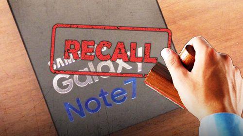 Galaxy Note 7 Di-recall