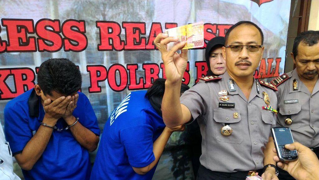 Polres Boyolali Amankan Dua Pengedar Uang Palsu Senilai Rp 117 Juta