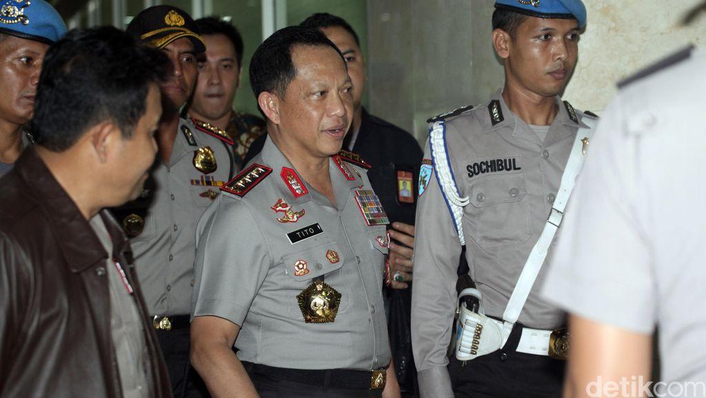 Kapolri Berikan Arahan Tertutup ke Personel Polda Metro Jaya