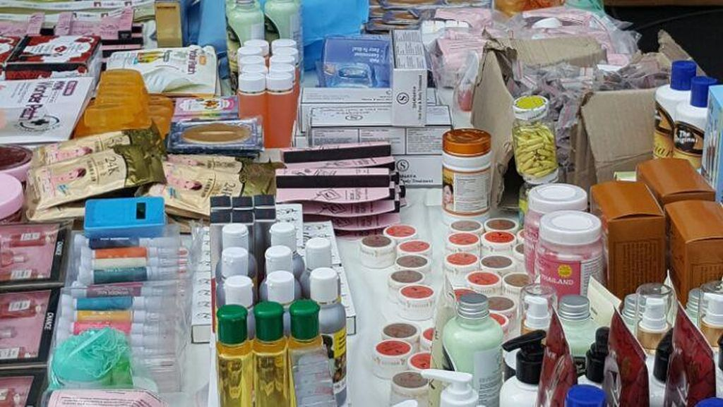 Polisi Bongkar Produsen Kosmetik Ilegal yang Dijual Online di Sunter