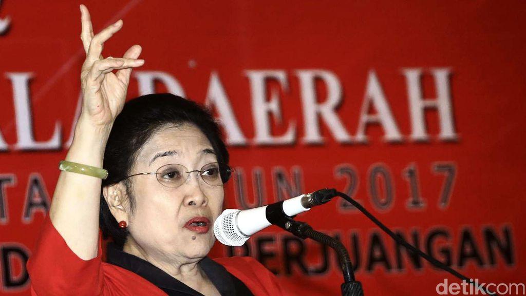 Mega Buka Sekolah Partai PDIP Gelombang Kedua