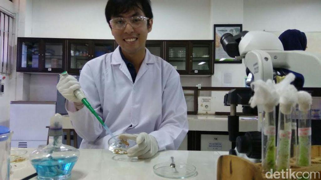 Mahasiswa ini Temukan Bioinsektisida dari Jamur