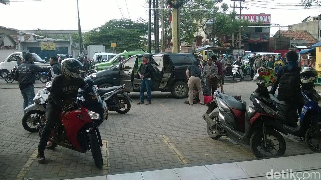 Pelaku Curanmor Ditembak Polisi di Batuceper Tangerang