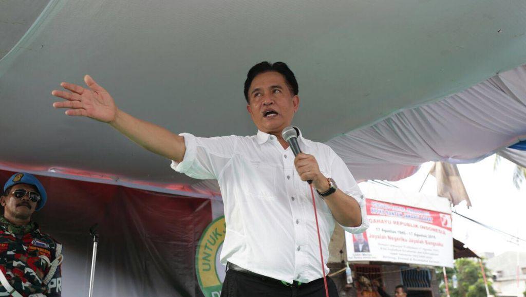 Bikin Poros Baru Tantang Ahok, Yusril: SBY-Amien Rais Turun Tangan
