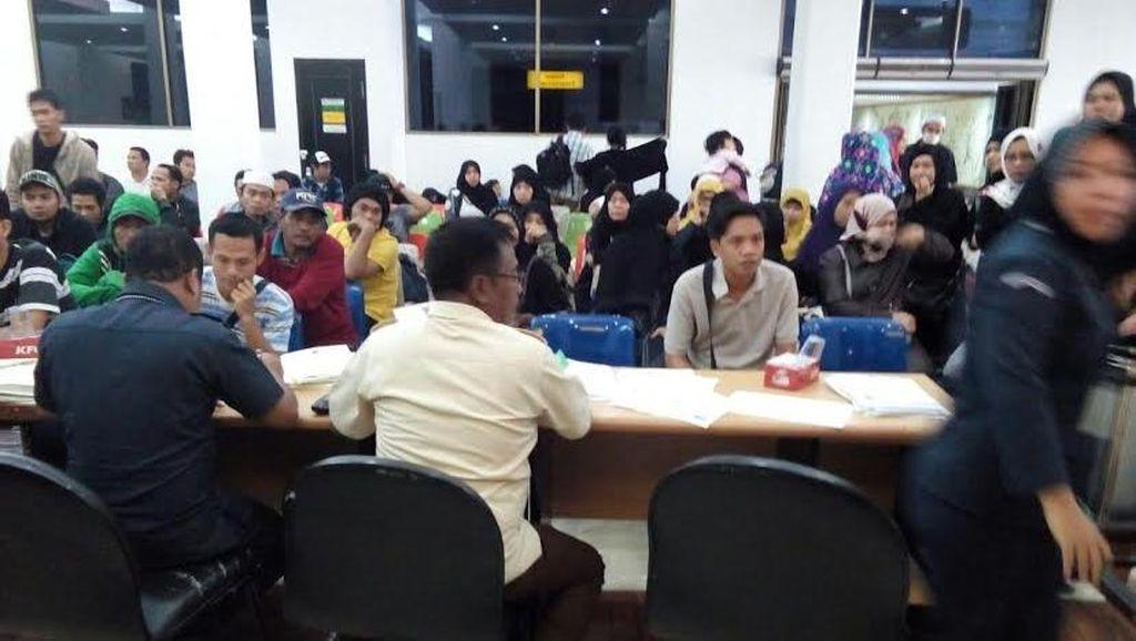 129 WNI Overstay di Arab Saudi Tiba di Jakarta
