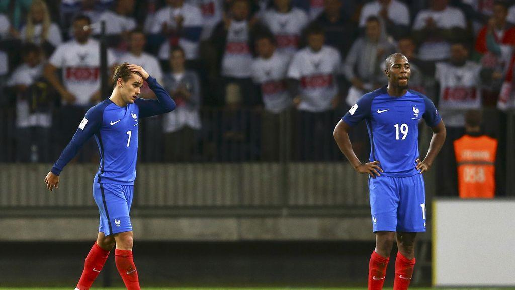 Prancis Imbang Tanpa Gol dengan Belarusia