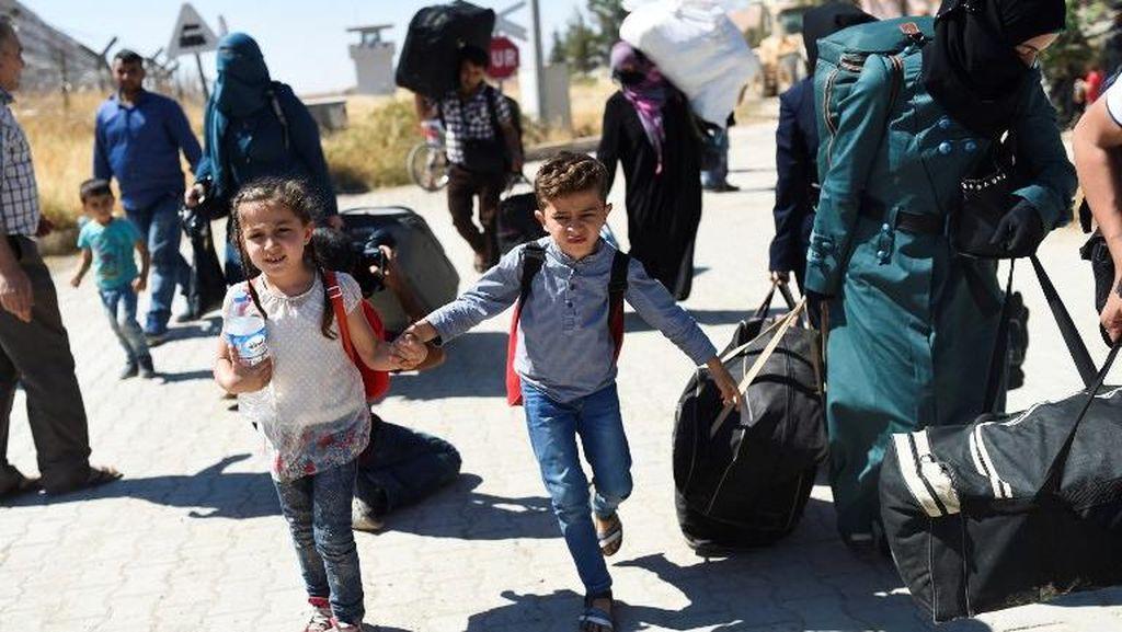 Pertempuran Pecah di Hama Suriah, 100 Ribu Orang Mengungsi