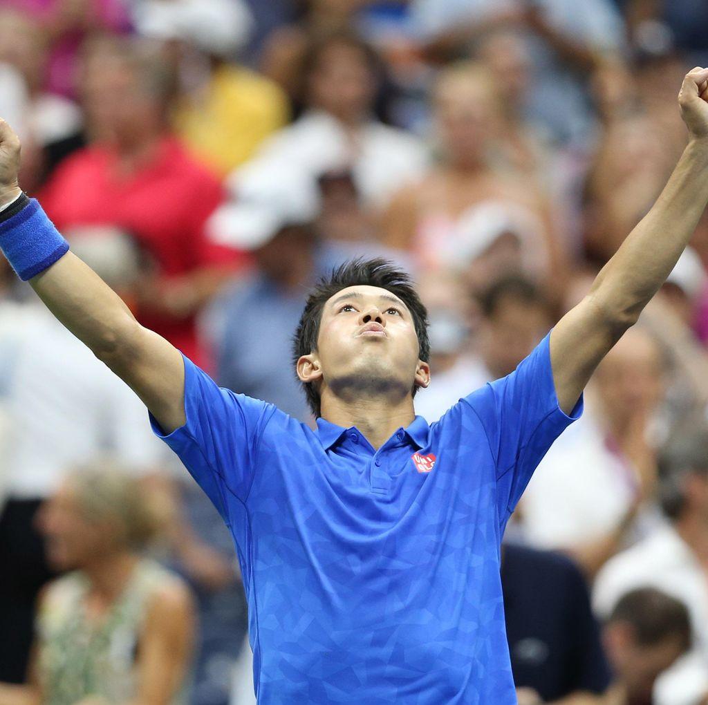 Singkirkan Murray, Nishikori Jejak Semifinal