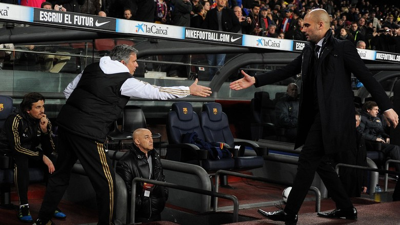Guadiola Menantikan Ajakan Dari Mourinho