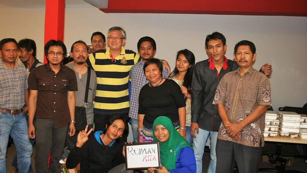 Kisah Alex Ong, WN Malaysia Pembela TKI yang Terinspirasi Munir