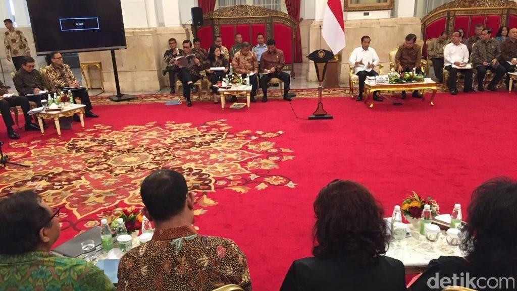 Jokowi-JK Pimpin Paripurna Bahas Hasil Kunker ke China dan Laos