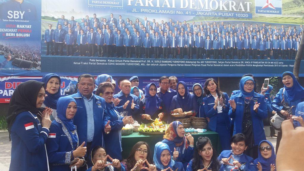 Pesan SBY di HUT ke-15 PD: Menangkan Pemilu 2019!