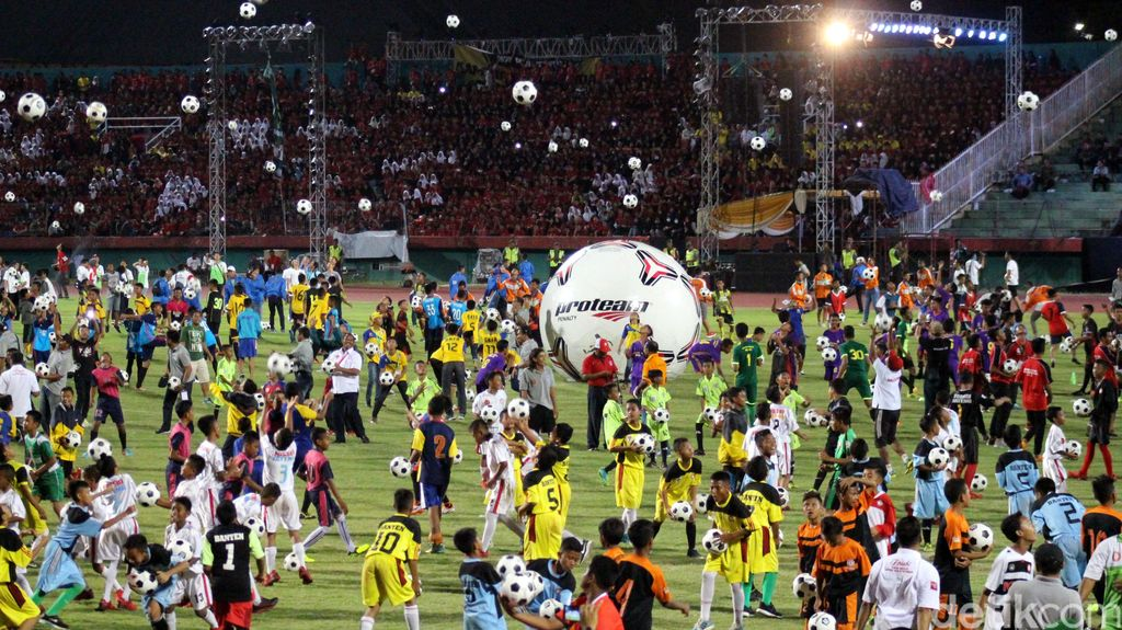 Semarak Haornas di Stadion Gelora Sidoarjo