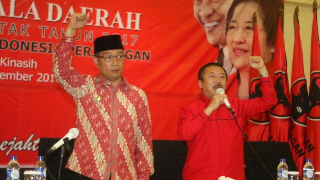Pesan Ridwan Kamil untuk Calon Kepala Daerah PDIP: Libatkan Masyarakat