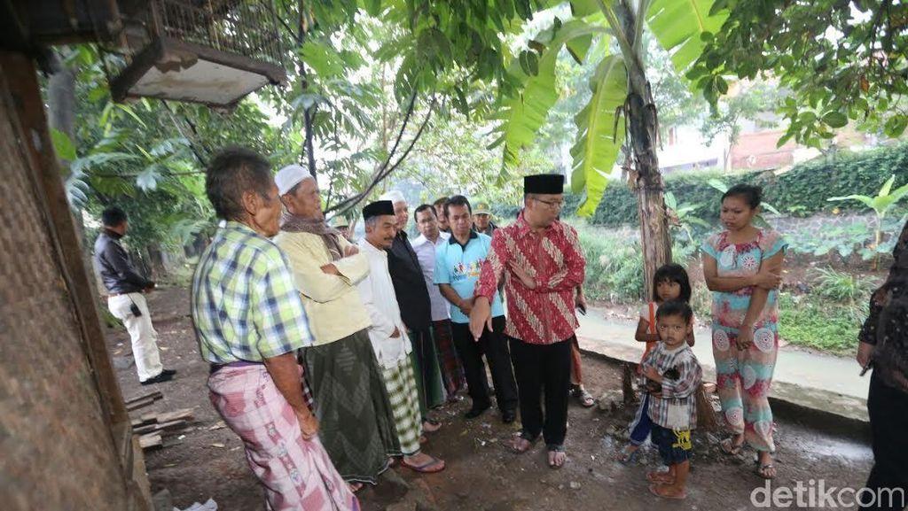 Dengar Nasib Pak Anda Eks Tukang Kebun Gedung Sate, Ridwan Kamil Bantu Beri Kontrakan