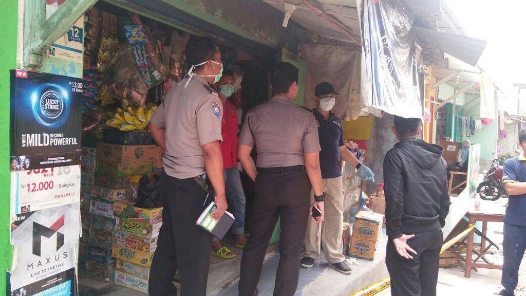 Pemilik Toko Kelontong Tewas dengan Sejumlah Luka di Pondok Aren