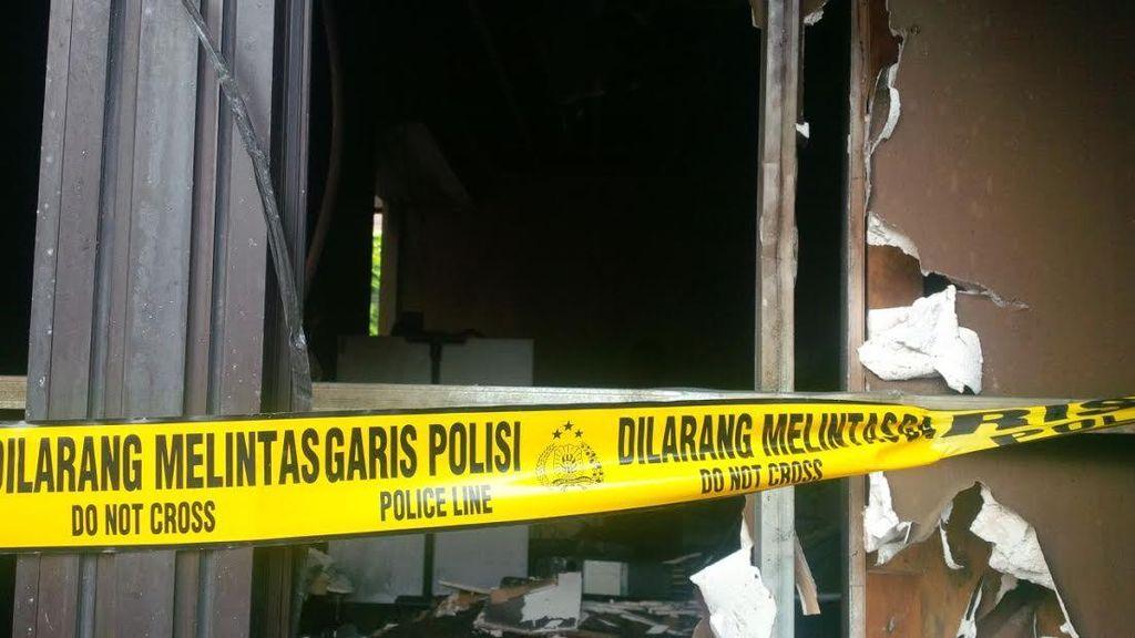 Tim Labfor Cek Kebakaran di ATM, Polri: Kerugian Masih Dihitung
