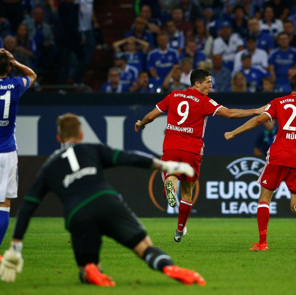 Bayern Susah Payah Menang di Kandang Schalke