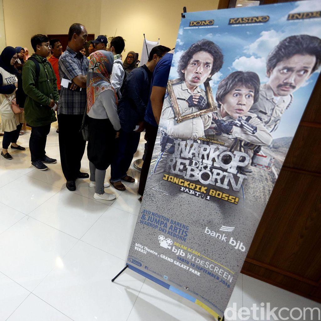 Warkop DKI Reborn Lanjutkan Tren Positif