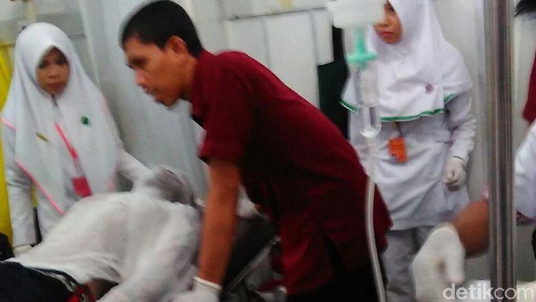 4 Orang Terluka Akibat Ledakan Dahsyat di Makassar, Dirawat di RS Bhayangkara