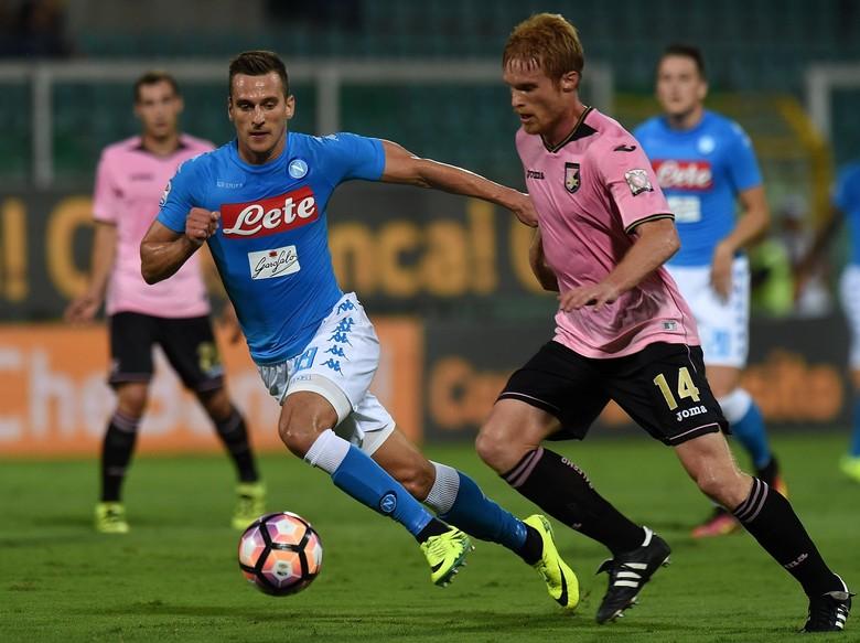 Napoli Lumat Palermo 3-0 Tanpa Balas