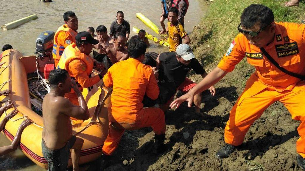 3 Orang yang Hanyut Saat Cuci Daging Kurban di Sungai Brebes Ditemukan Tewas
