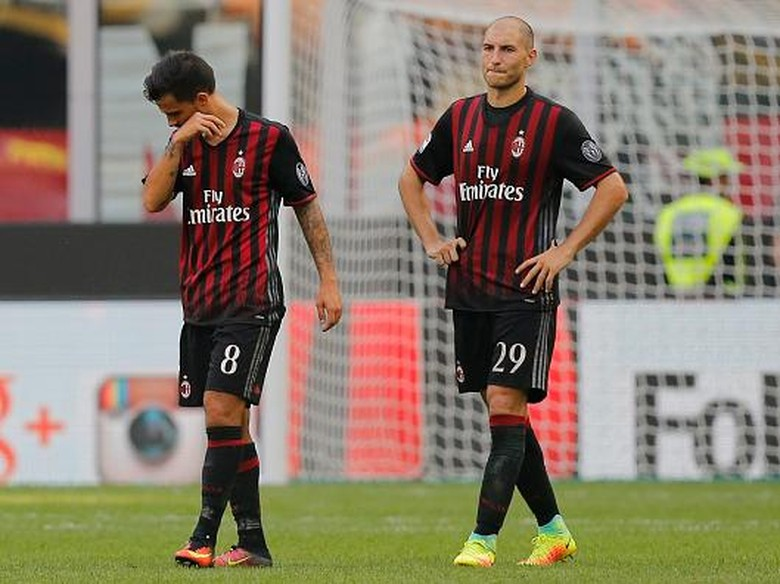 AC Milan Dianggap Tidak Beruntung