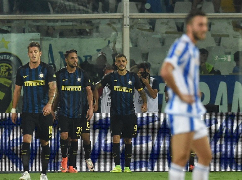 Dua Gol Sumbangan Icardi Menangkan Inter Milan