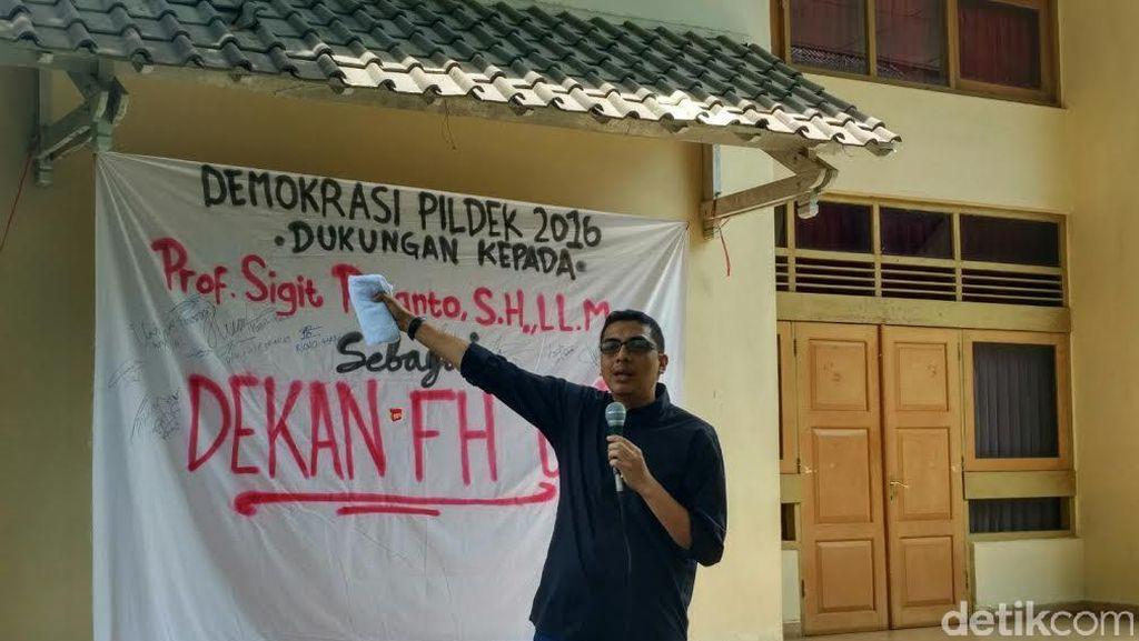 Rektor UGM Diminta Tak Ciderai Demokrasi Dalam Pemilihan Dekan Fakultas Hukum