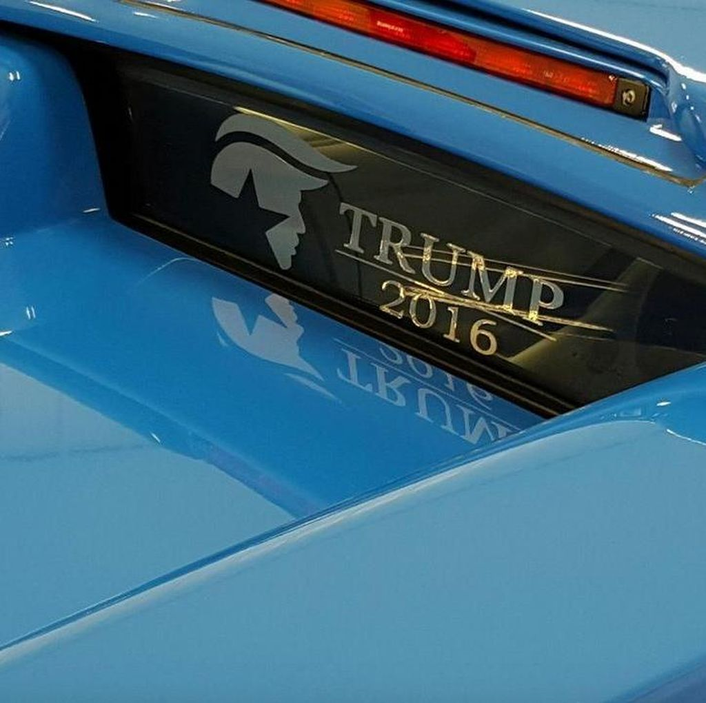 Lamborghini Bekas Donald Trump Tak Laku
