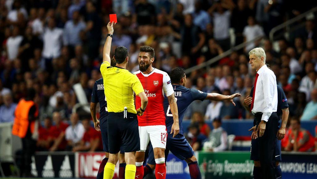 Soal Kartu Merah, Giroud Kecam Verratti