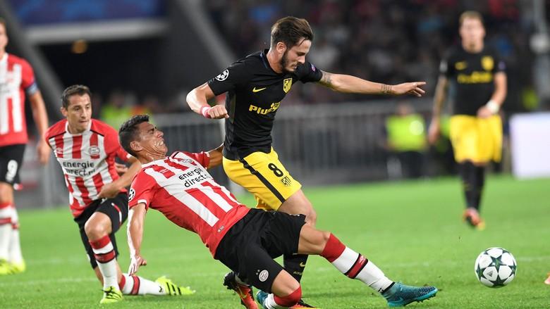Atletico Menang Tipis 1-0 Di Kandang PSV