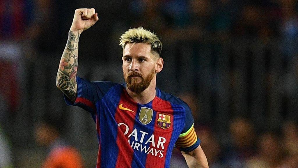Messi Balas Ucapan Lekas Pulih dari Gladbach