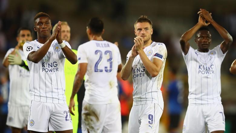 Leicester City Menang Telak