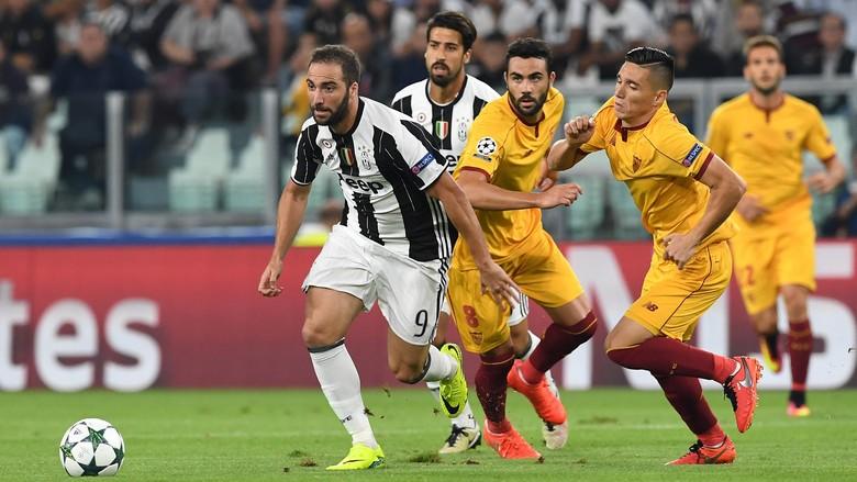 Juventus Bermain Imbang Dengan Sevilla