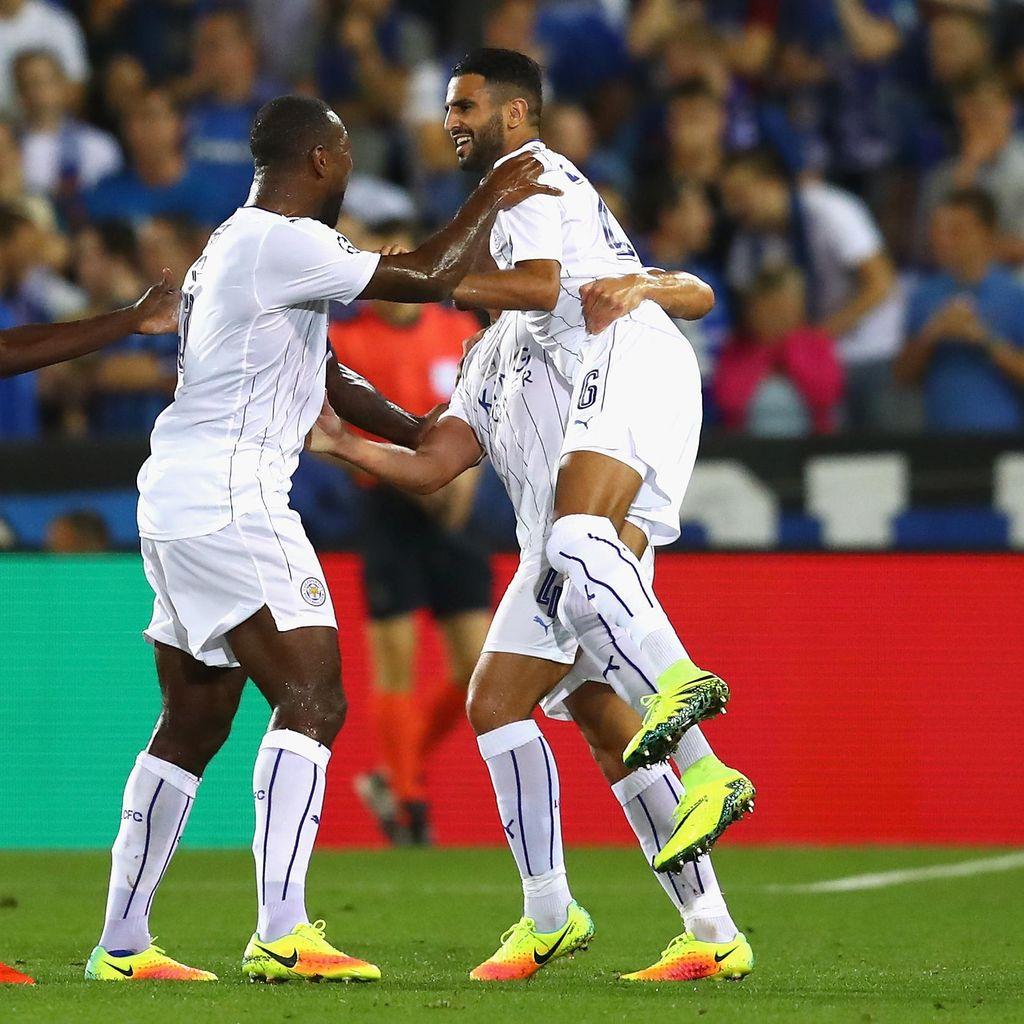 Musik Liga Champions Sudah Bangunkan Mahrez