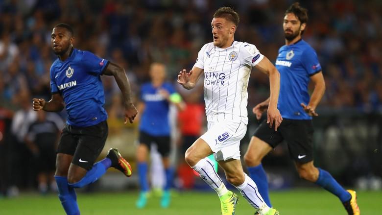 Leicester Lakukan Debut Di Liga Champions Dengan Kemenangan Telak