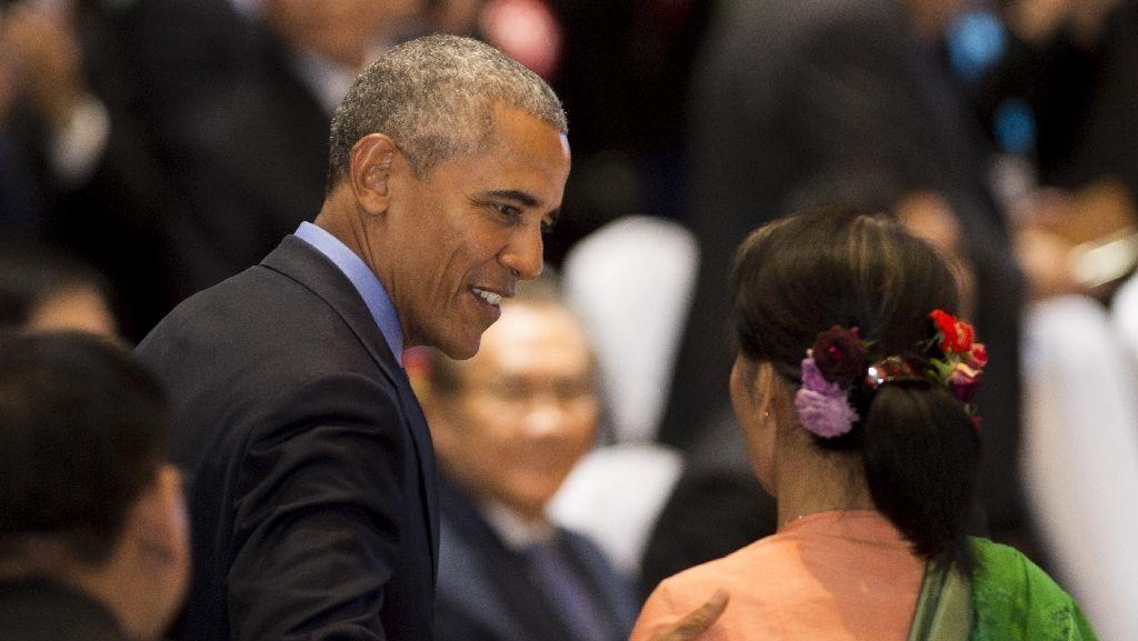 Kunjungi Gedung Putih, Aung San Suu Kyi Dinilai Berubah Jadi Politisi