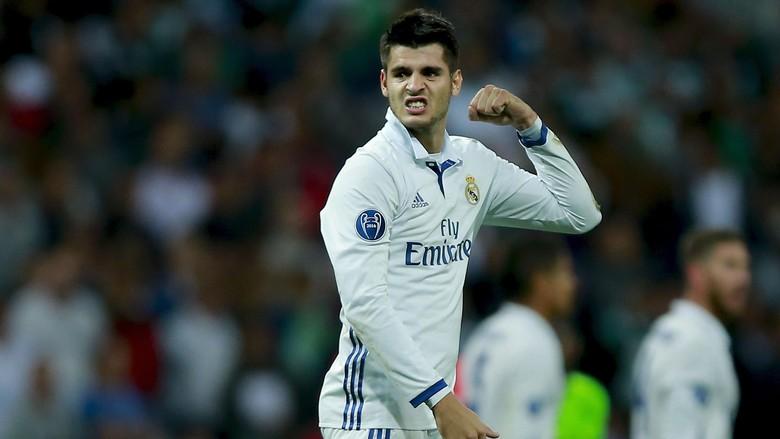 Morata Percaya Madrid Akan Selalu Balikan Keadaan