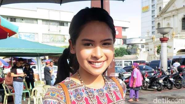 Begini Proses Syuting Film Trinity, The Nekad Traveler di Pasar Quiapo