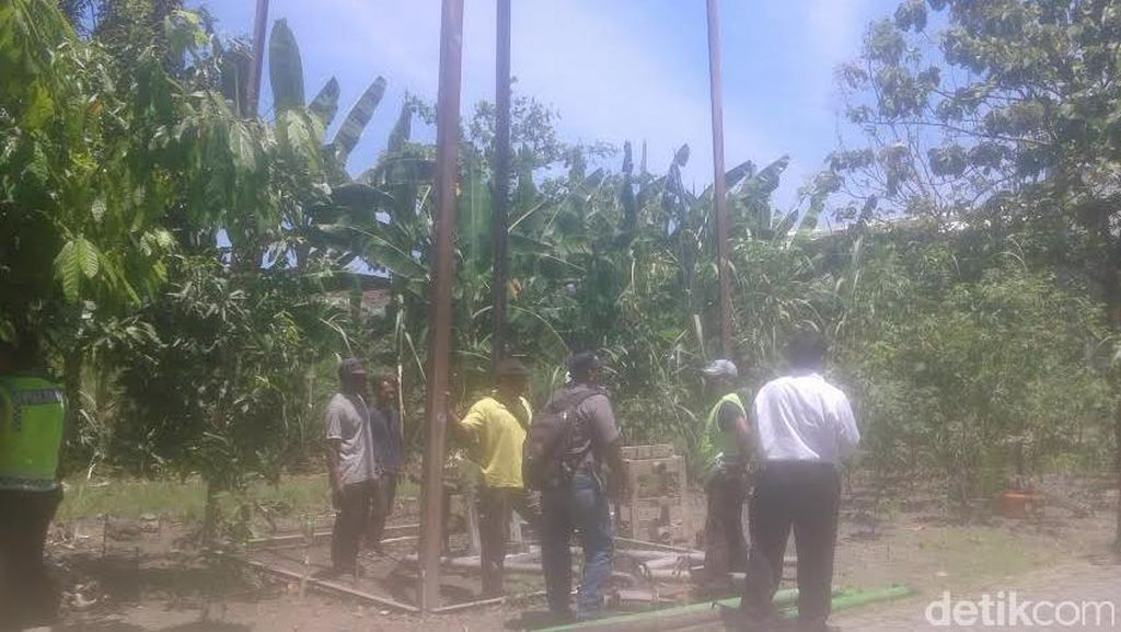 Pembangunan Sutet di Area Perumahan Makarya Binangun Ditolak Warga