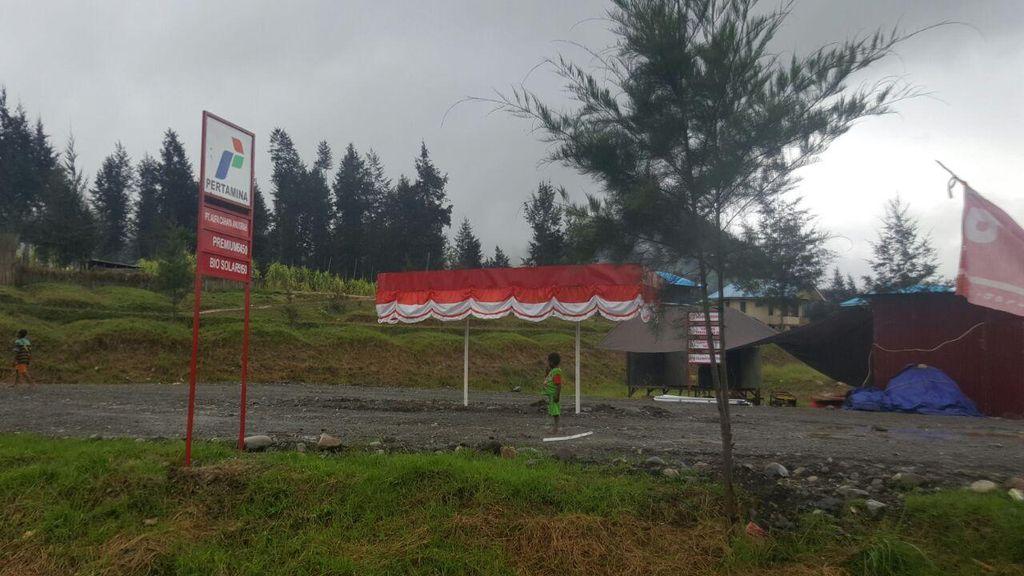 Cuma Punya Satu POM Bensin, Begini Aturan Mengisi BBM di Puncak Papua